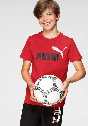 PUMA T-Shirt »ESS+ 2 Col Logo Tee B«