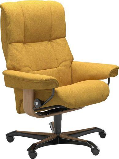Stressless® Relaxsessel »Mayfair«, mit Home Office Base, Größe M, Gestell Eiche