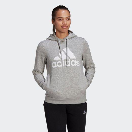 adidas Performance Funktions-Kapuzensweatjacke »LOUNGEWEAR Essentials Logo Fleece Hoodie«