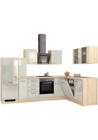 Flex-Well Winkelküche su E-Geräten Stellbreite 3...