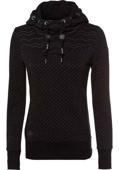Ragwear Sweater »NUGGIE SWEAT« im Allover-Design