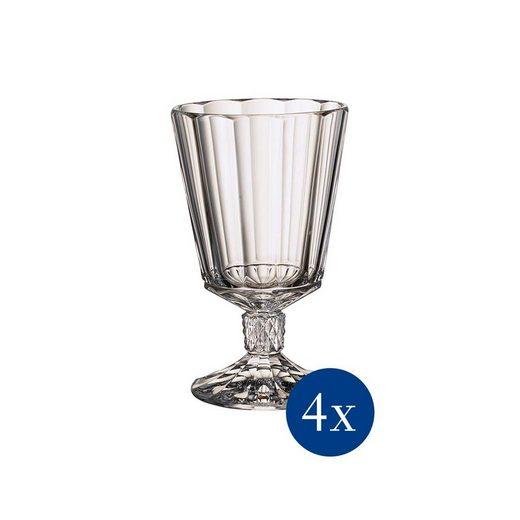 Villeroy & Boch Rotweinglas »Opéra Rotweinkelch 4er Set« (4-tlg), Glas