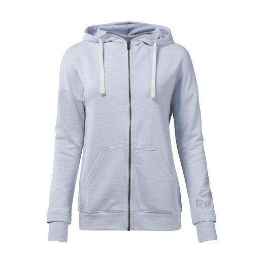 Reebok Trainingspullover »Training Essentials Marble Full-Zip Hoodie«