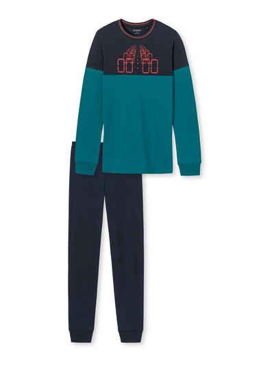 Schiesser Schlafanzug »aus der SCHIESSER-Serie 'Acid Brights'« (1 tlg)