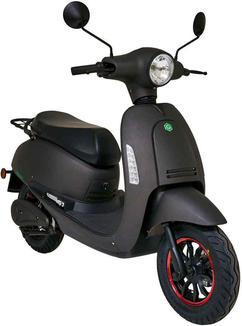 GreenStreet E-Motorroller »SEED«, 1200 W, 45 km/h