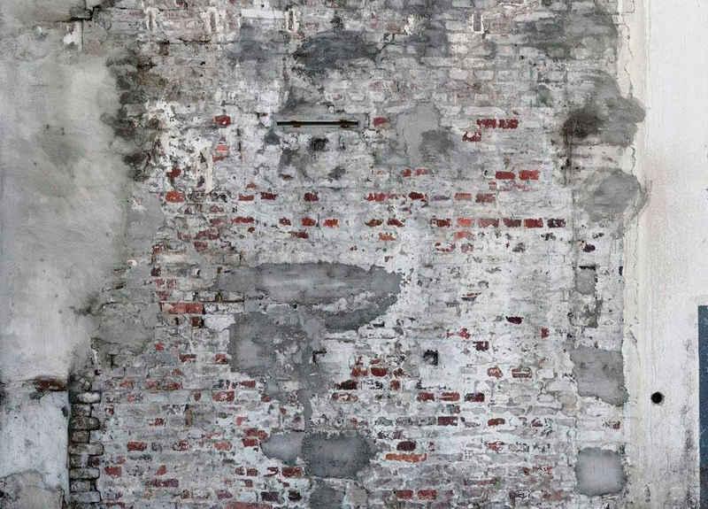 Rasch Fototapete »Factory III«, glatt, gemustert, Steinoptik, (1 St)