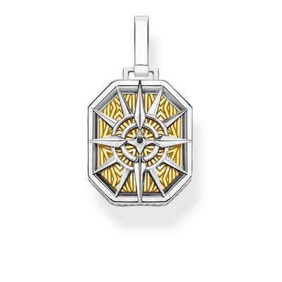 THOMAS SABO Kettenanhänger »Kompass goldfarben«