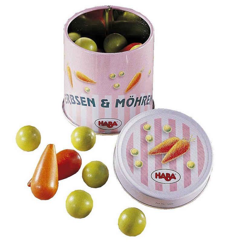 Haba Spiellebensmittel »HABA 1410 Dose Erbsen und Möhren Spiellebensmittel«