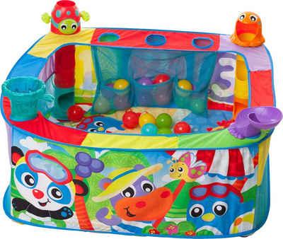 Playgro Bällebad »Pop Up Baby«, mit vier unterschiedlichen Aktionsstationen