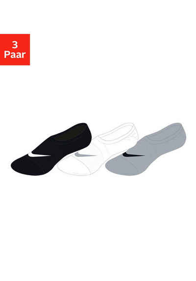 Nike Füßlinge (3-Paar) mit atmungsaktivem Mesh
