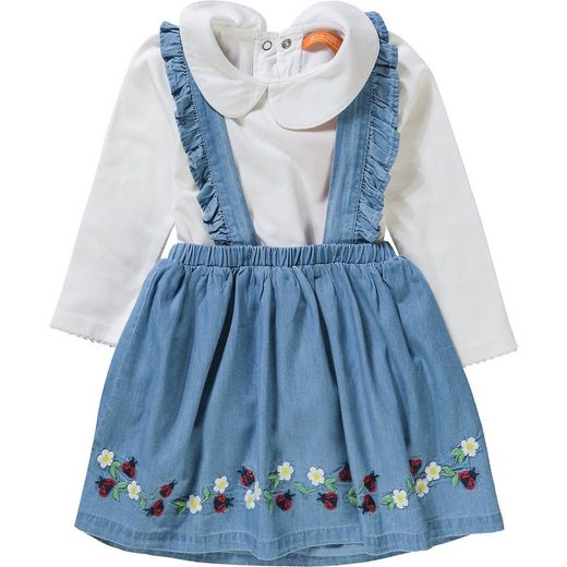 STACCATO Baby Set Langarmbody + Kleid für Mädchen