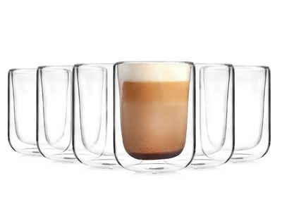 SÄNGER Gläser-Set »Cappu«, Glas, Doppelwandige Thermogläser