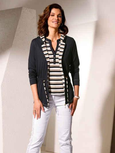 Mona Shirtjacke mit weitenregulierbarem Taillenband