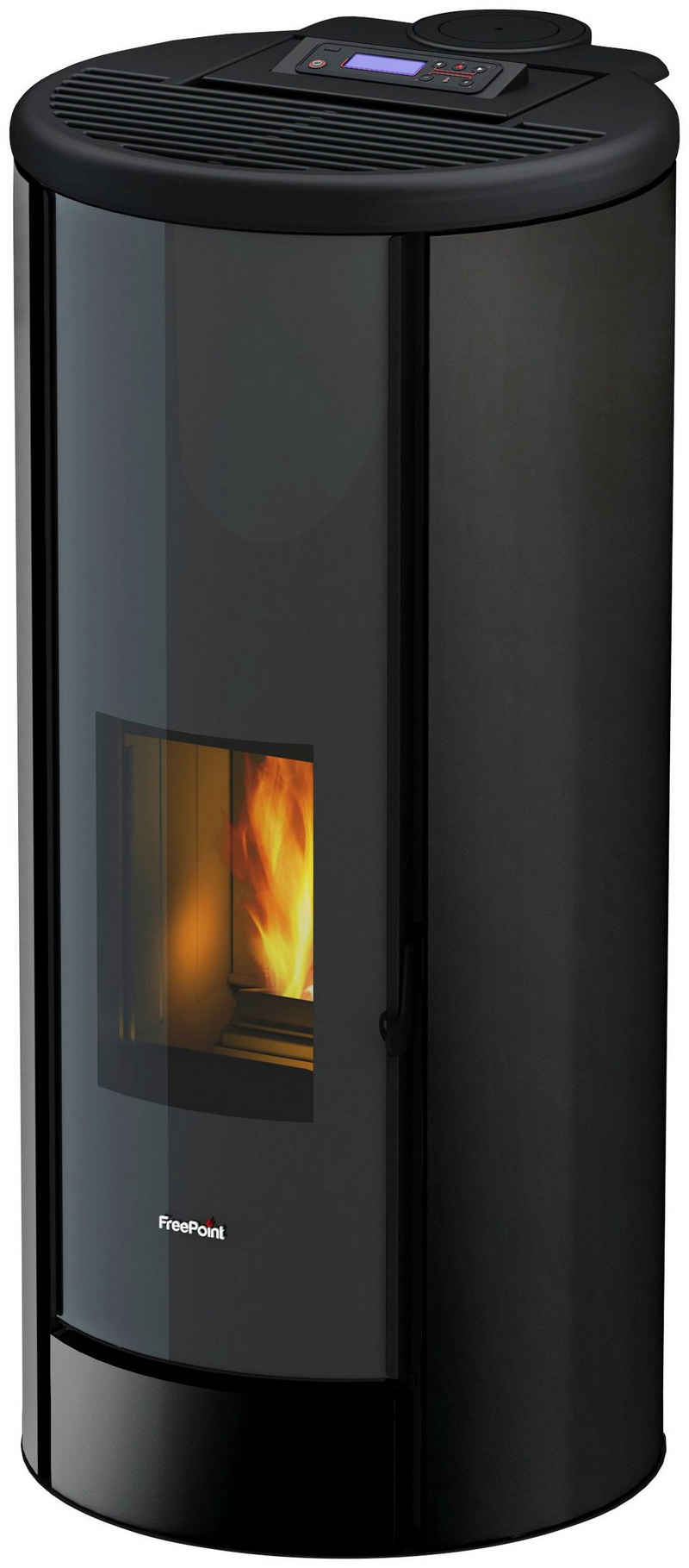 Freepoint Pelletofen »BREEZE«, 9,1 kW, Zeitbrand, Stahl, integrierte WIFI-Funktion