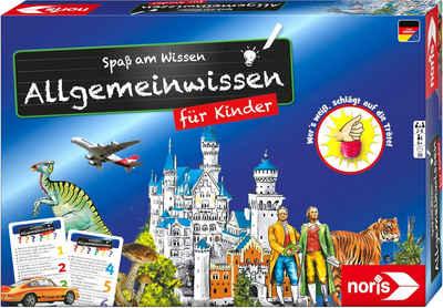 Noris Spiel, Quizspiel »Spaß am Wissen - Allgemeinwissen für Kinder«