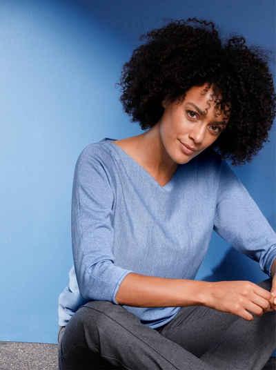 Inspirationen 3/4 Arm-Pullover »Pullover«
