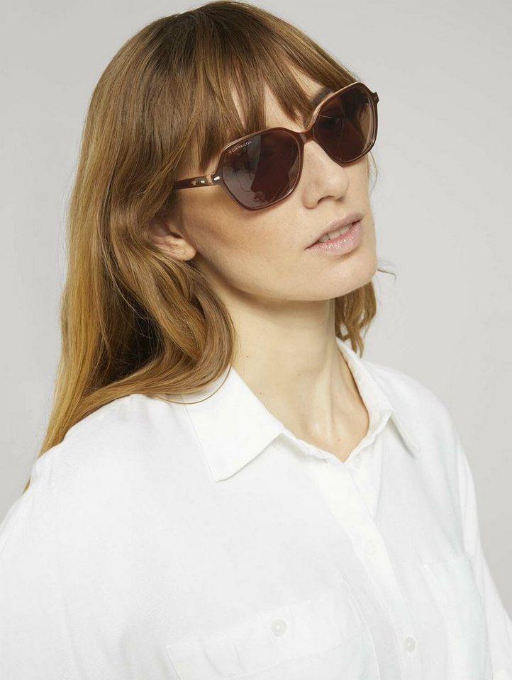 tom tailor -  Sonnenbrille »Sonnenbrille mit Metallnieten«