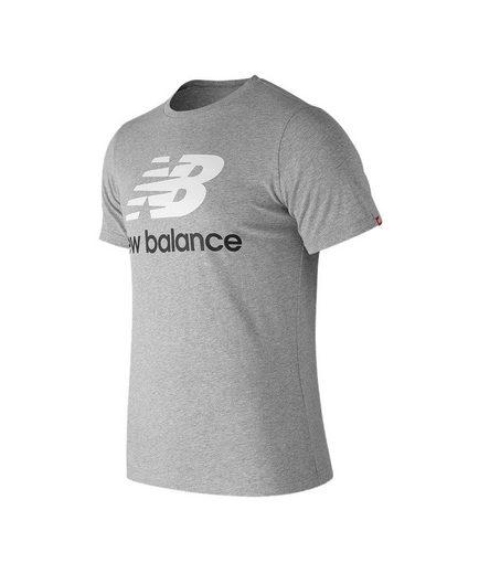 New Balance Kurzjacke »Essentials Stacked Logo T-Shirt«