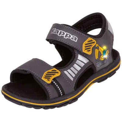 Kappa »ROAD SUN KIDS« Sandale mit cooler Blinkfunktion