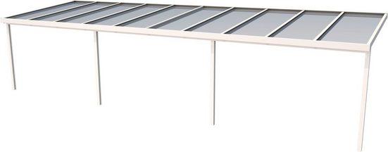 GUTTA Terrassendach »Premium«, BxT: 1014x306 cm, Dach Acryl klar