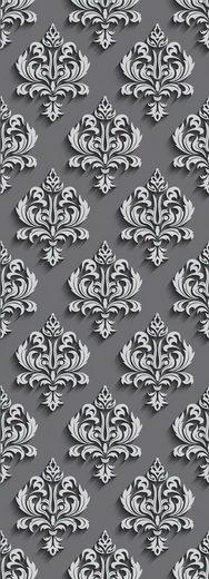 queence Vinyltapete »Fleur de lis«, 90 x 250 cm, selbstklebend