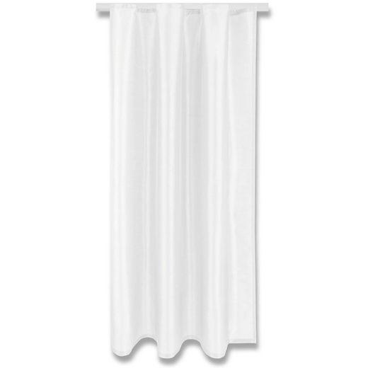 Vorhang, Arsvita, Kräuselband (1 Stück), Blickdichter Dekoschal mit Universalband, Fertiggardine Alessia in vielen Größen und Farben