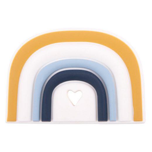 BIECO Beißring »Bieco Silikon Tor Beißring Baby, 10 cm Ab 0 Monate Zahnungshilfe Baby Baby Greifling in Tor Design Bunter Beissring für Baby zum Zahnen Motorikspielzeug Baby Beißring Silikon Baby«