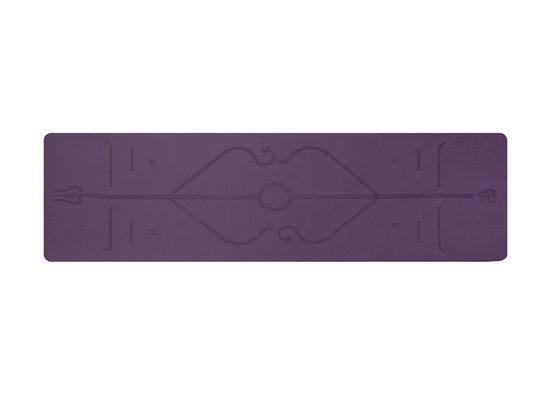 RAIKOU Yogamatte »Zweifarbige TPE-Yogamatte Gymnastikmatte Fitnessmatte Trainingsmatte rutschfest mit guter Länge und Dicke Yogamatten Trainingsmatte«