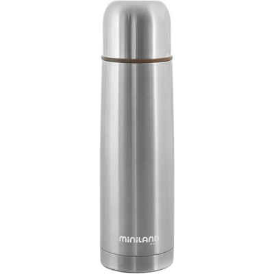 Miniland Isolierflasche »Thermoflasche Silky Thermo, 500 ml, silber«