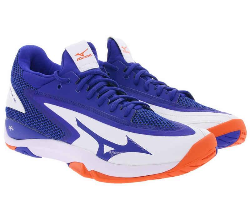 Mizuno »MIZUNO Turnschuhe flexible Herren Tennisschuhe Wave Impulse AC Sportschuhe Freizeitschuhe Blau« Tennisschuh