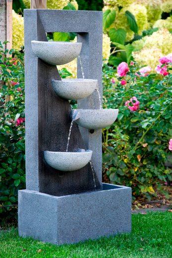 DOBAR Gartenbrunnen BxTxH: ca. 40x25x92 cm