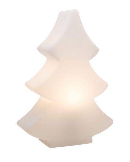 8 seasons design Gartenleuchte »Shining Tree«, 40 cm weiß für In- und Outdoor