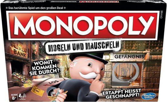 Hasbro Spiel, »Monopoly Mogeln und Mauscheln«