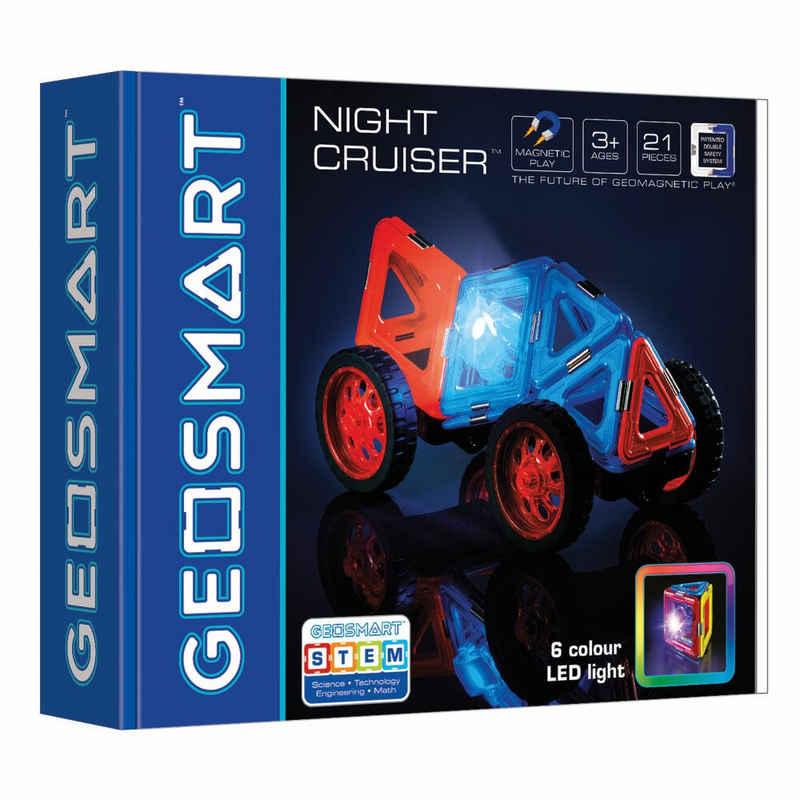 Smart Games Magnetspielbausteine »Geosmart Night Cruiser«