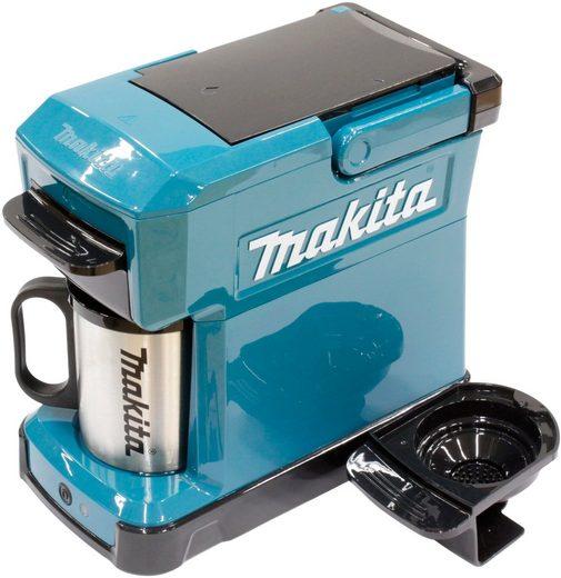 MAKITA Kaffeemaschine »DCM501Z«, 18 V, ohne Akku und Ladegerät