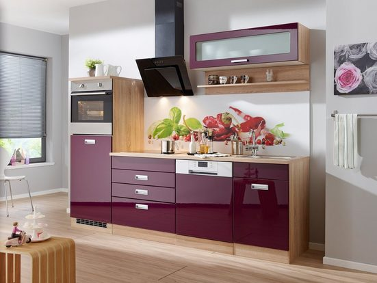 Küchenzeile ohne E-Geräte »Fulda, Breite 250 cm«