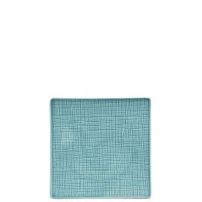 Rosenthal Teller »Mesh Aqua Teller 17 cm quadratisch flach«