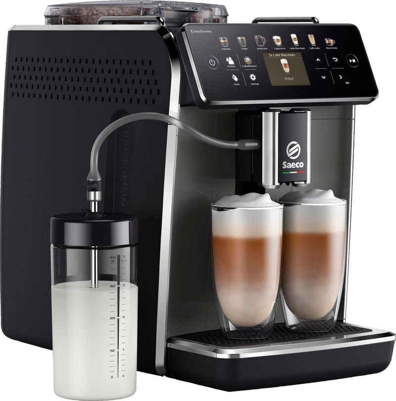 Saeco Kaffeevollautomat GranAroma SM6580/50, individuelle Personalisierung mit CoffeeMaestro, 14 Kaffeespezialitäten