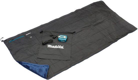 Makita Heizdecke »DCB 200A«, mit 3 Heizstufen für bis zu 35 Stunden Wärme