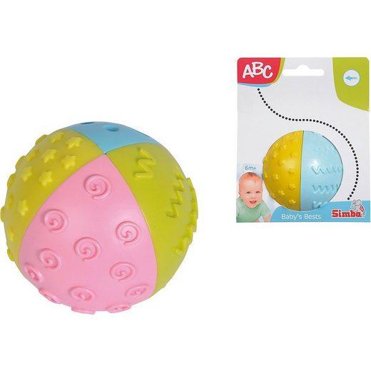 SIMBA Rasselball »ABC Entdeckerball 4-fabig«