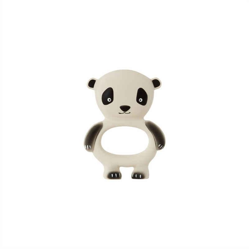 OYOY Beißring »Panda«, Zahnungshilfe Greifling Teether Babyspielzeug