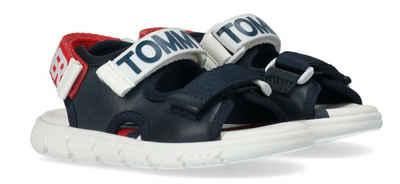Tommy Hilfiger Sandale mit dreifachem Klettverschluss