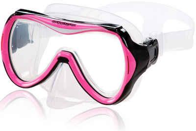 AQUAZON Taucherbrille »AQUAZON MAUI Junior Medium Schnorchelbrille, Taucherbrille, Schwimmbrille, Tauchmaske für Kinder, Jugendliche из 7-14 Jahren, Tempered Glas, sehr robust, tolle Passform«