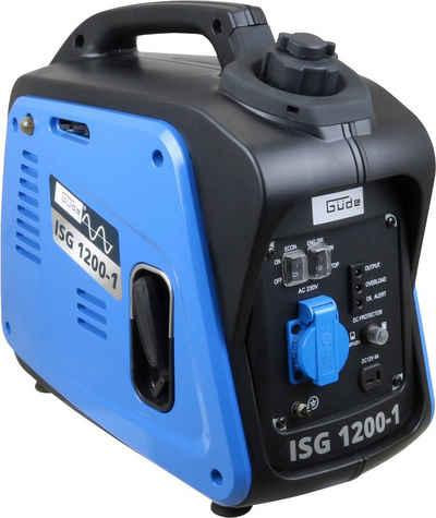 Güde Stromerzeuger »ISG 1200-1«, 1,3 in kW, inkl. 230 V Steckdose und Ladekabel