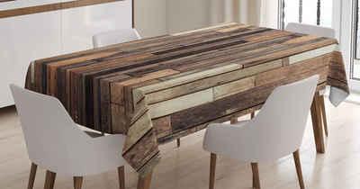 Abakuhaus Tischdecke »Personalisiert Farbfest Waschbar Für den Außen Bereich geeignet Klare Farben«, Rustik Old Boden Rustikaler Stil