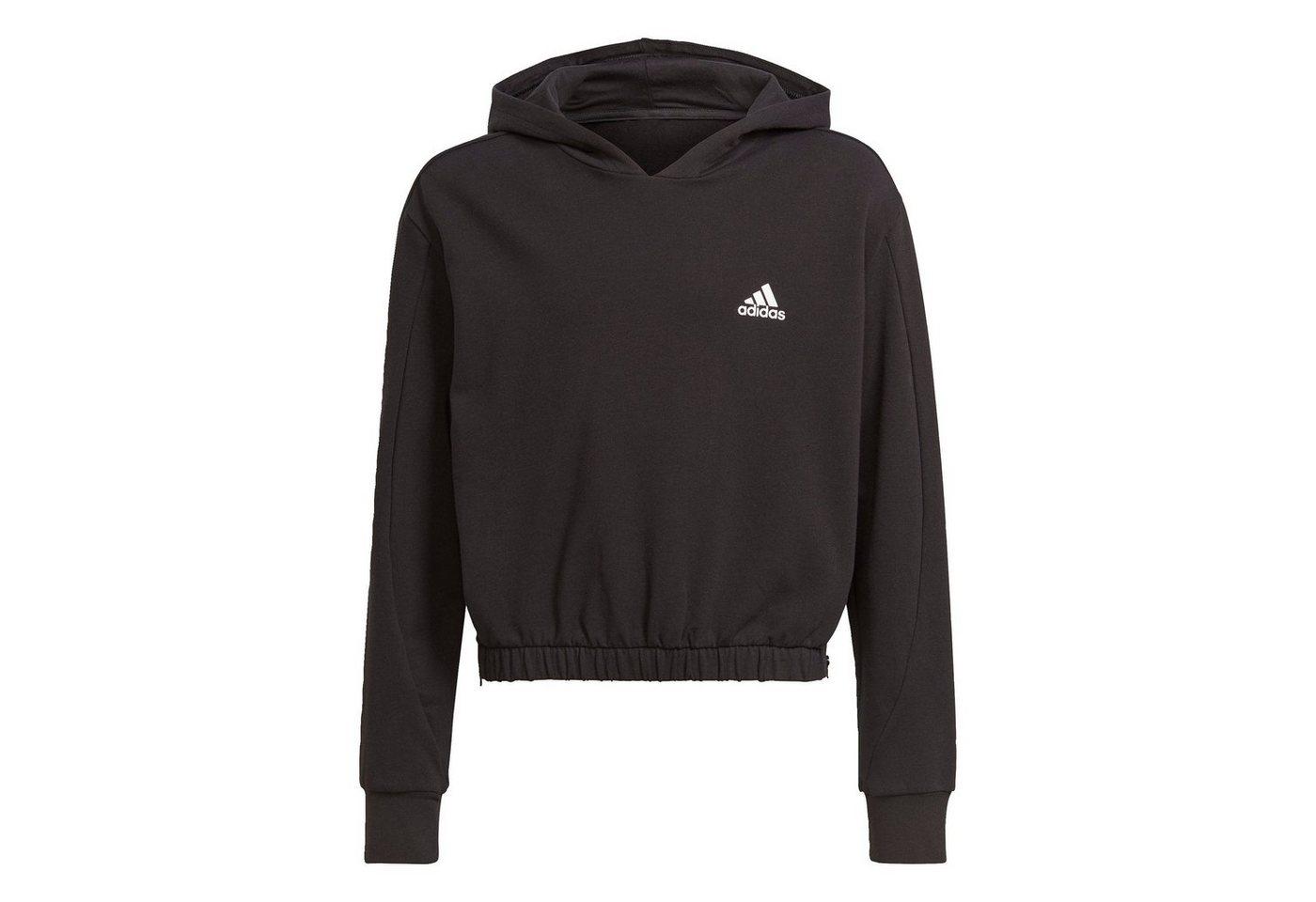 adidas performance -  Trainingsanzug »Warm-Up Dance Move Comfort Zip Side Slits Cotton Loose Hoodie«