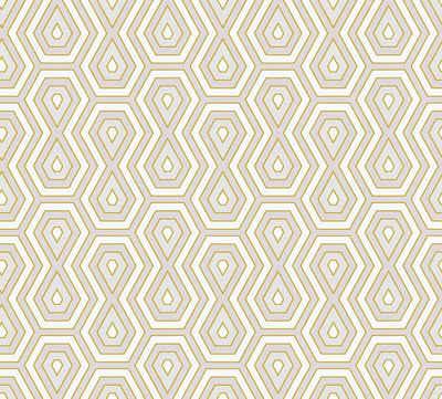 Architects Paper Vliestapete »Jungle Chic«, glatt, geometrisch, grafisch, Retro