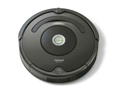 iRobot Saugroboter Roomba 676, beutellos, Appfähig, Multi-Boden-Bürsten, eine besondere Bürste für die Ecken, iAdapt Navigation, Zyklusprogrammierung