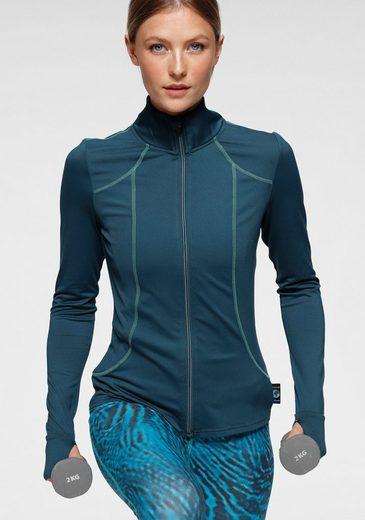 Ocean Sportswear Trainingsjacke »Stop OCEAN pollution« ; REPREVE®-zertifiziert