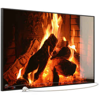 STEINFELD Heizsysteme Infrarotheizung, Glas Bild, 900W 120x74cm, Inklusive Thermostat, viele Motive